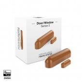 Fibaro FGDW-002-5 - Door/Window Sensor 2 Cappuccino (Light Brown)