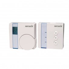 Secure Wall Thermostat with LCD display plus actuator (Kit) GEN5