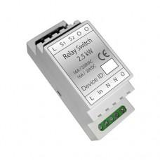 Haseman DR1-1 - Z-Wave DIN Rail 2.5kW Switch module (Insert Fibaro FGS-212)